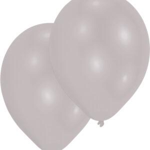 Ballons silber 50 Stk