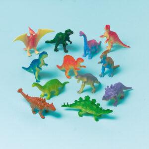 Dinosaurier 12Stk