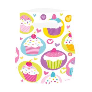 Partytüten Cupcake 6Stk