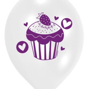 Ballons Cupcake 8Stk