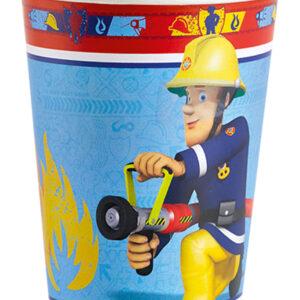 Becher Feuerwehrmann Sam 266ml 6Stk