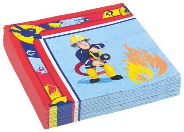 Servietten Feuerwehrmann Sam 20Stk