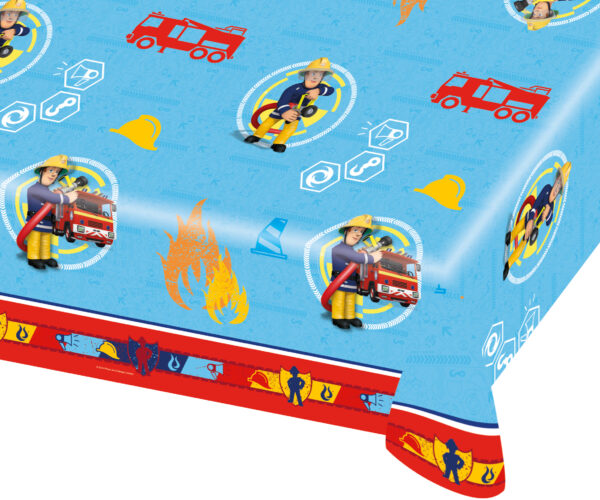Tischdecke Feuerwehrmann Sam 120 x 180cm