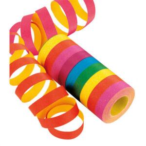 Luftschlangen Regenbogen
