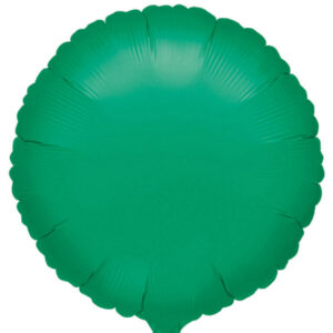 Folienballon rund grün 45cm/ 18 Inch