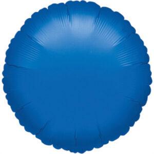 Folienballon rund saphirblau 45cm/ 18inch
