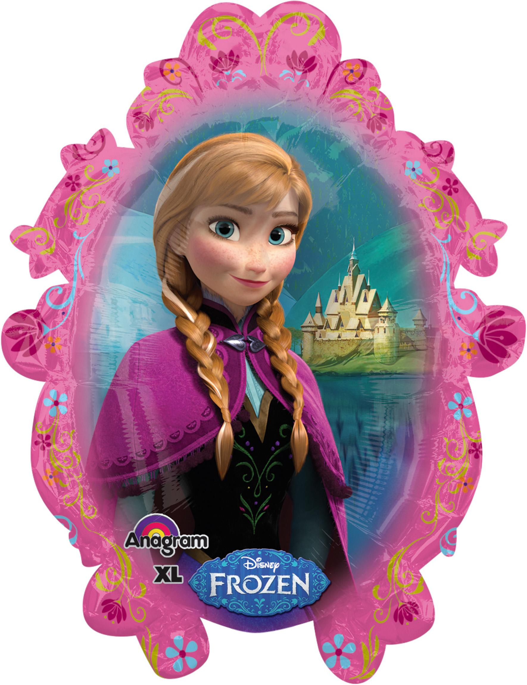 Folienballon Frozen Anna Elsa Kolner Kostumkiste