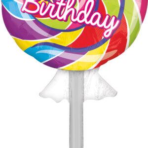 Folienballon Lolly 106cm/ 41,7 Inch