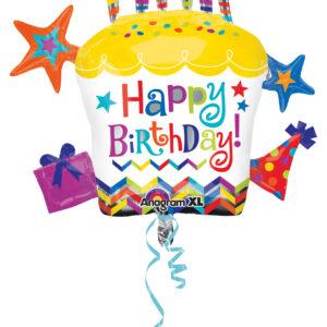 Folienballon Cupcake Stern HB