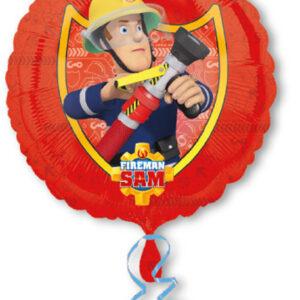 Folienballon Feuerwehrmann Sam 43cm