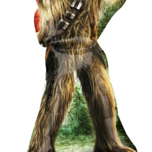 Folienballon Star Wars Chewbacca