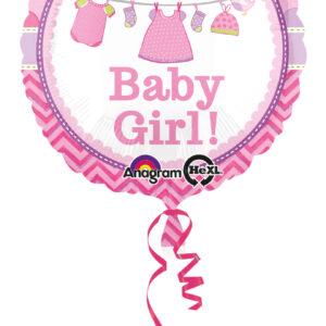 Folienballon It´s a Babygirl 43cm