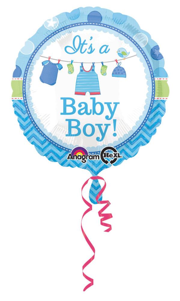 Folienballon It´s a Babyboy 43cm
