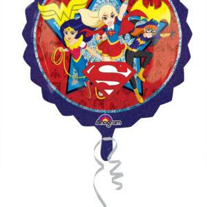 Folienballon DC Super Hero Girls