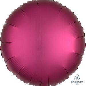 Ballon rund magenta 45cm/ 18 Inch