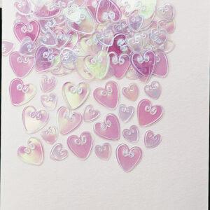 Confetti loving Hearts