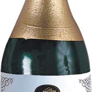 Ballongewicht Folie champagner