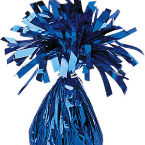 Ballongewicht Folie blau