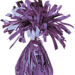 Ballongewicht Folie lila
