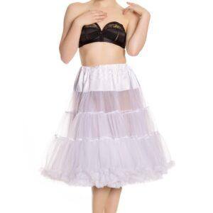 Petticoat lang weiß Gr. L/XXL