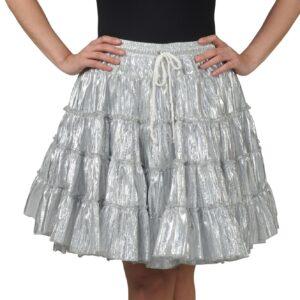 Petticoat de Luxe silbermetallic