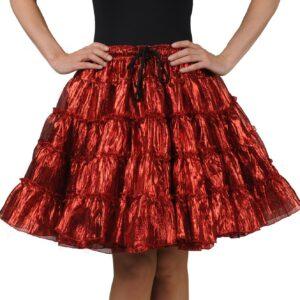 Petticoat de Luxe rotmetallic