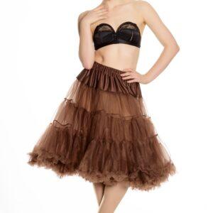 Petticoat lang braun Gr. L-XXL