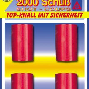100-Schuß Munition, 2000 Schuß, Blister, VE:10