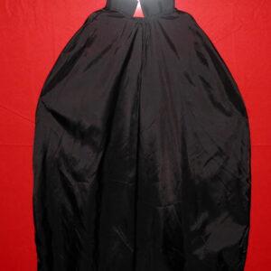 Umhang, 50 cm Lang, schwarz