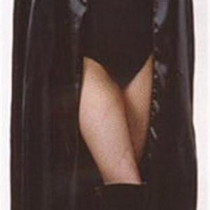 Dracula Umhang, 136 cm, Stehkragen, rot