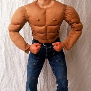 Muskel Body Arni Stoff