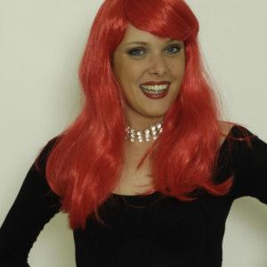 Perücke Francoise, rot