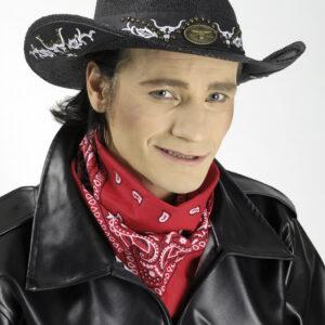 Cowboyhut Rodeo schwarz