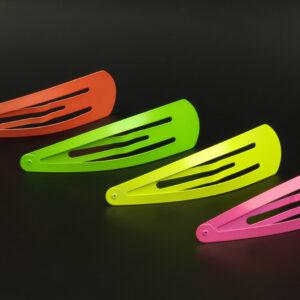 Haarklammern groß neon 15cm sortiert