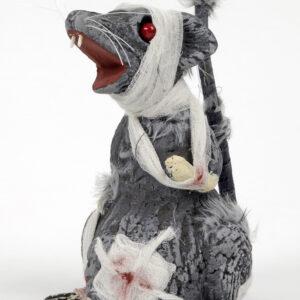 Zombie Ratte  22x17cm