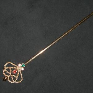 Feenstab mit Juwelen in Gold