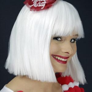 Kleines Hütchen rot/weiß Kölle Alaaf