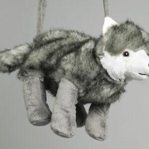 Plüschtasche Wolf