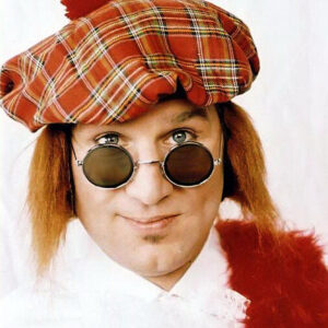 Schotten Mütze mit Haar