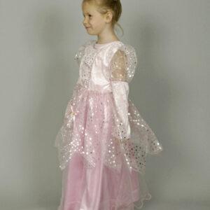 Kostüm Prinzessin, pink Gr. 140-152