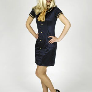 Damenkostüm Stewardess Gr. 36-38