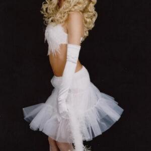 Petticoat, weiß, Gr. 36-38