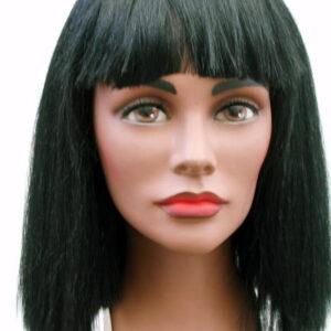 Perücke China Girl schwarz