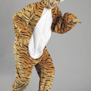 Plüschoverall Tiger Gr. 46/48