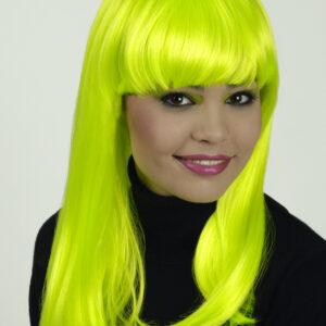 Perücke Josie neongrün kanekalon