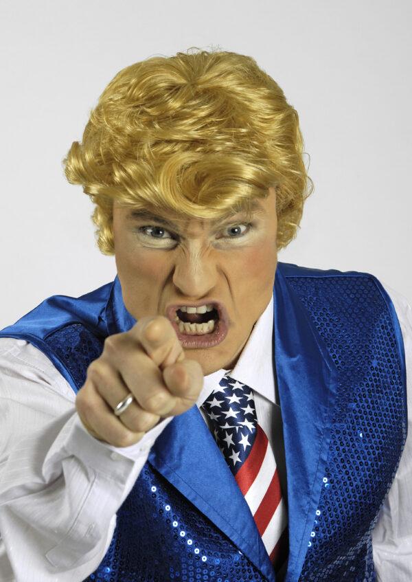 Perücke Donald Blond