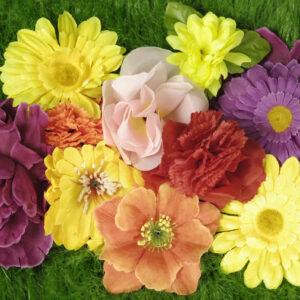 Blumensortiment im Beutel (10 Stück), D.-Preis