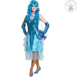 Kostüm Meerjungfrau türkisglänzend Gr.44