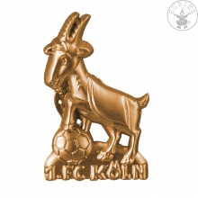 1. FC Köln Anstecknadel Hennes