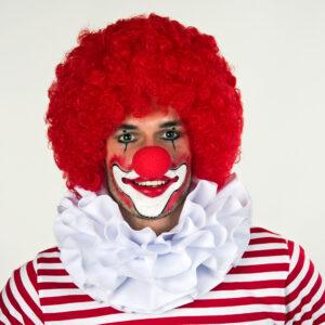 Clownkragen weiß dreilagig